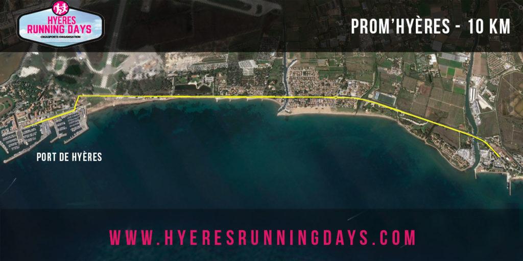 Prom-hyères-parcours-10-km hyères running days