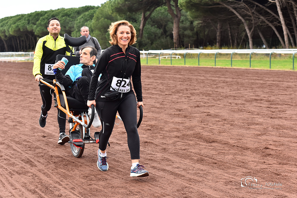 cross adapté handi'Run hyères running days 2018