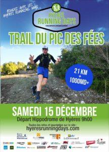 Trail du Pic des Fées des Hyères Running Days 2018 #HRD18