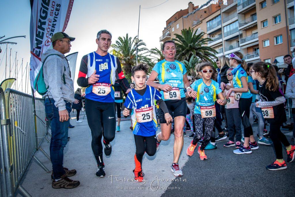 challenge parenst enfants Hyères Running Days 2019