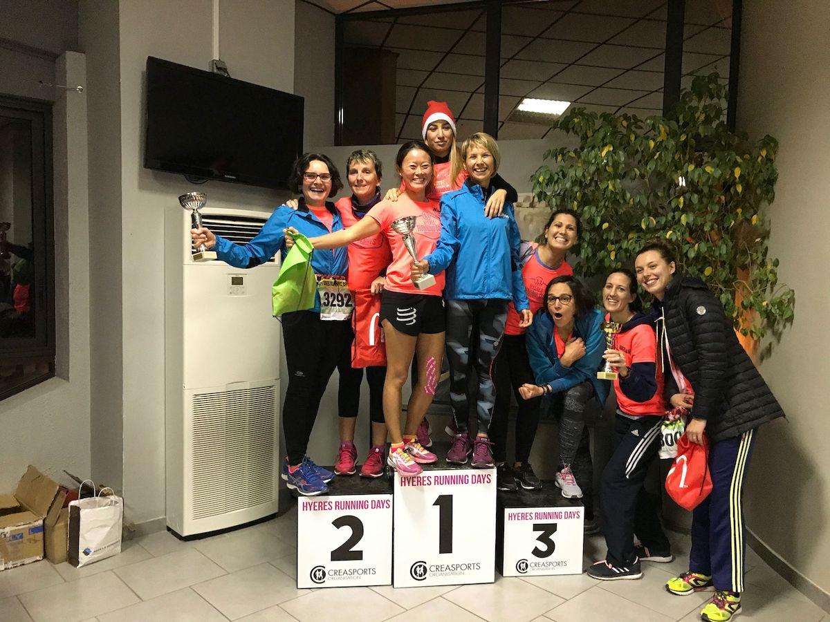 podium corporat run feminines 2018