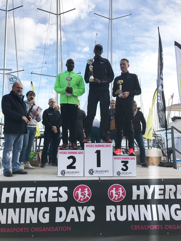 podium-seniors-H-10-km- PROM'HYERES Hyères Running Days 2018