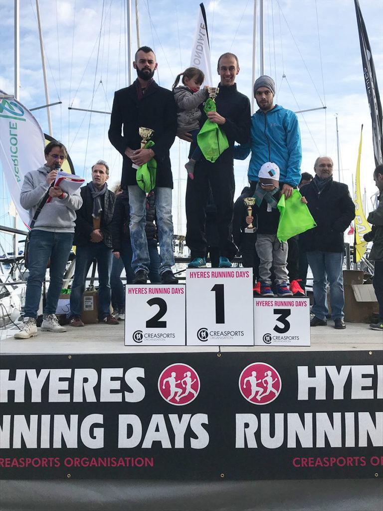 podium-seniors-H-5-km- PROM'HYERES Hyères Running Days 2018