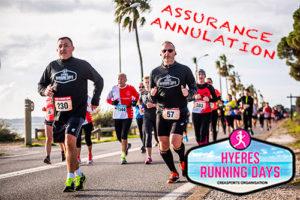 Assurance-annulation hyères running days par Web4Run