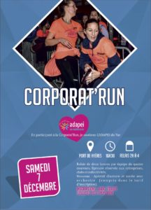 Affiche Corporat'Run Affiche Corporat'Run Hyères Running Days 2019 - Communication digitale Ingenieweb