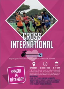 Affiche Cross International Hyères Running Days 2019 - Communication digitale Ingenieweb