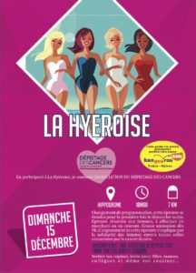 Affiche La Hyéroise Hyères Running Days 2019 - Communication digitale Ingenieweb