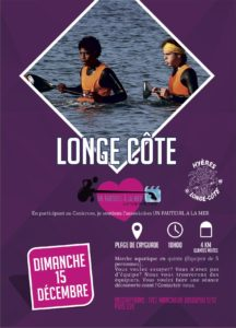Affiche Longe Côte Hyères Running Days 2019 - Communication digitale Ingenieweb