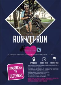 Affiche Run VTT Run Hyères Running Days 2019 - Communication digitale Ingenieweb
